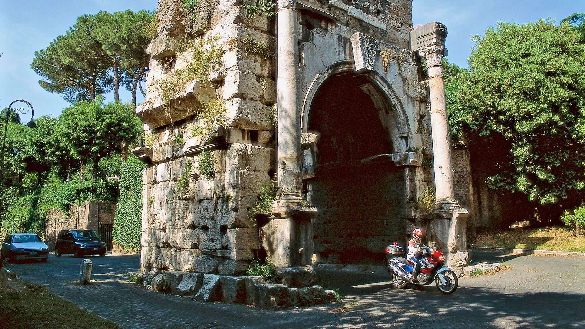 Antikes Pflaster