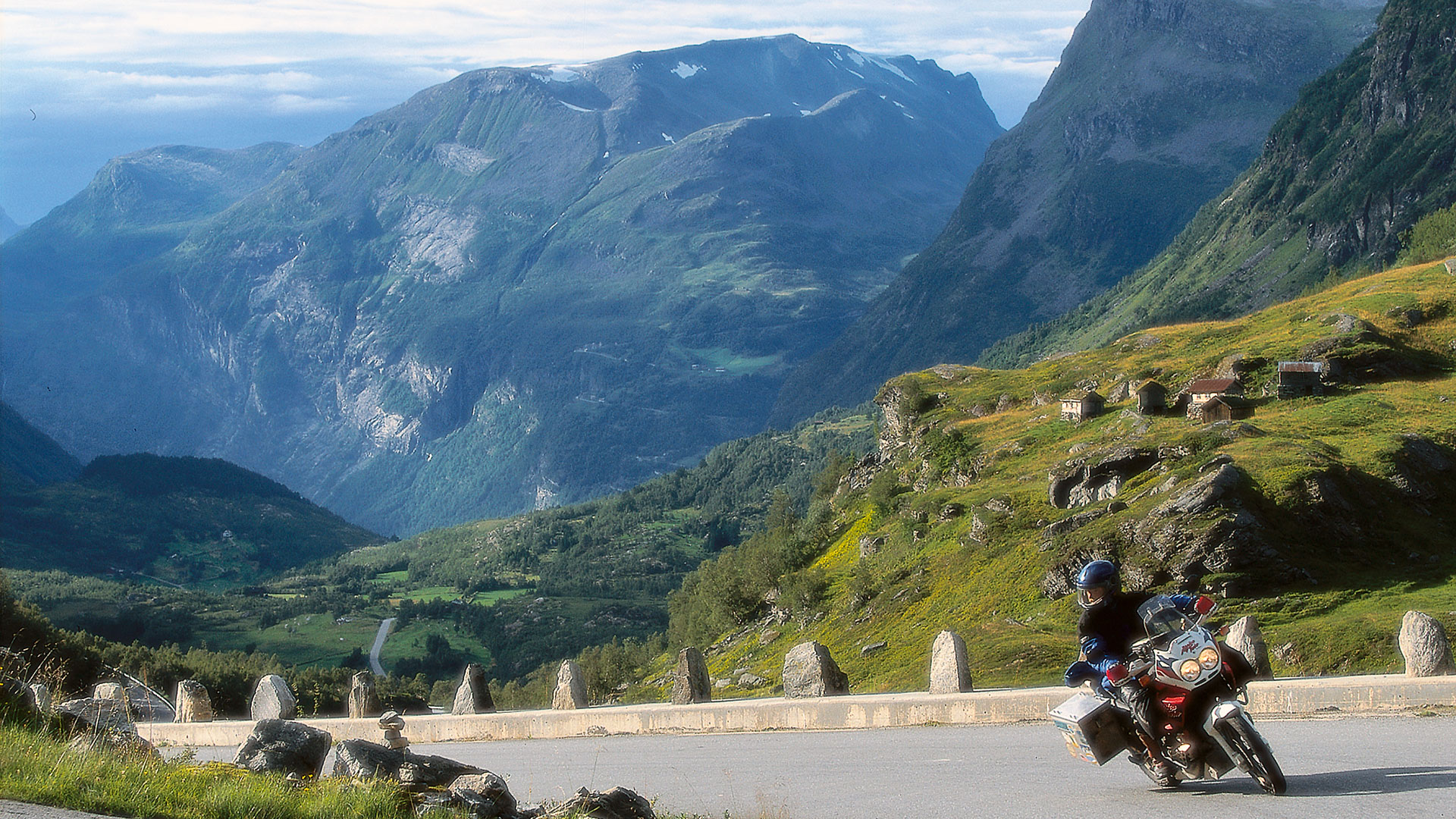 Zwischen Berg und Tal
