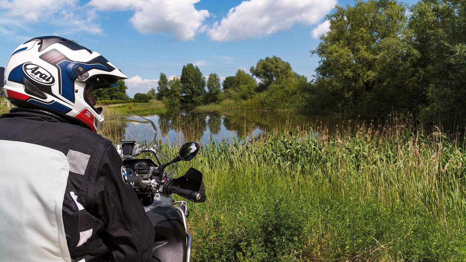 Fluss-Fahrt