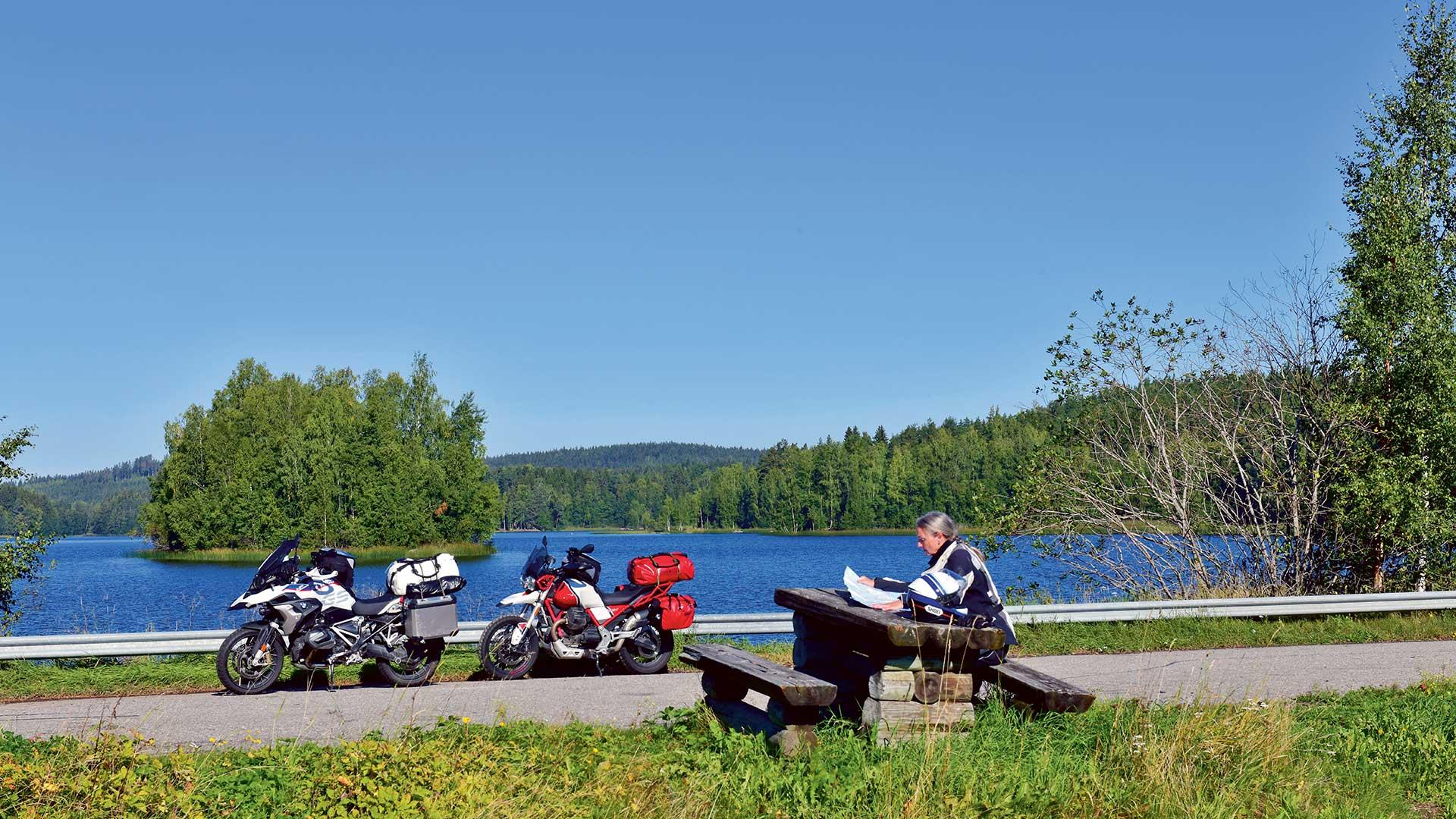 Tausend Seen und ein Bär