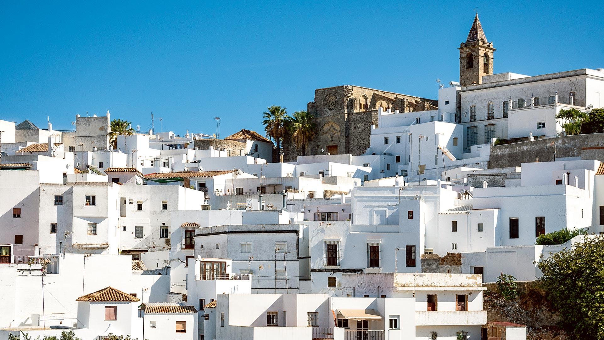Andalusien und Meer