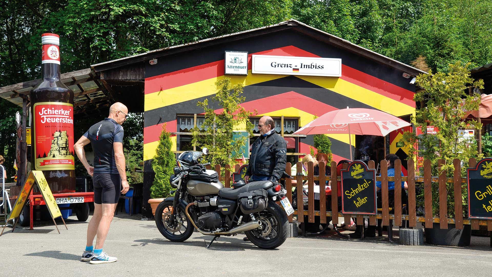 Kurventanz im Hexenland, Tour 2