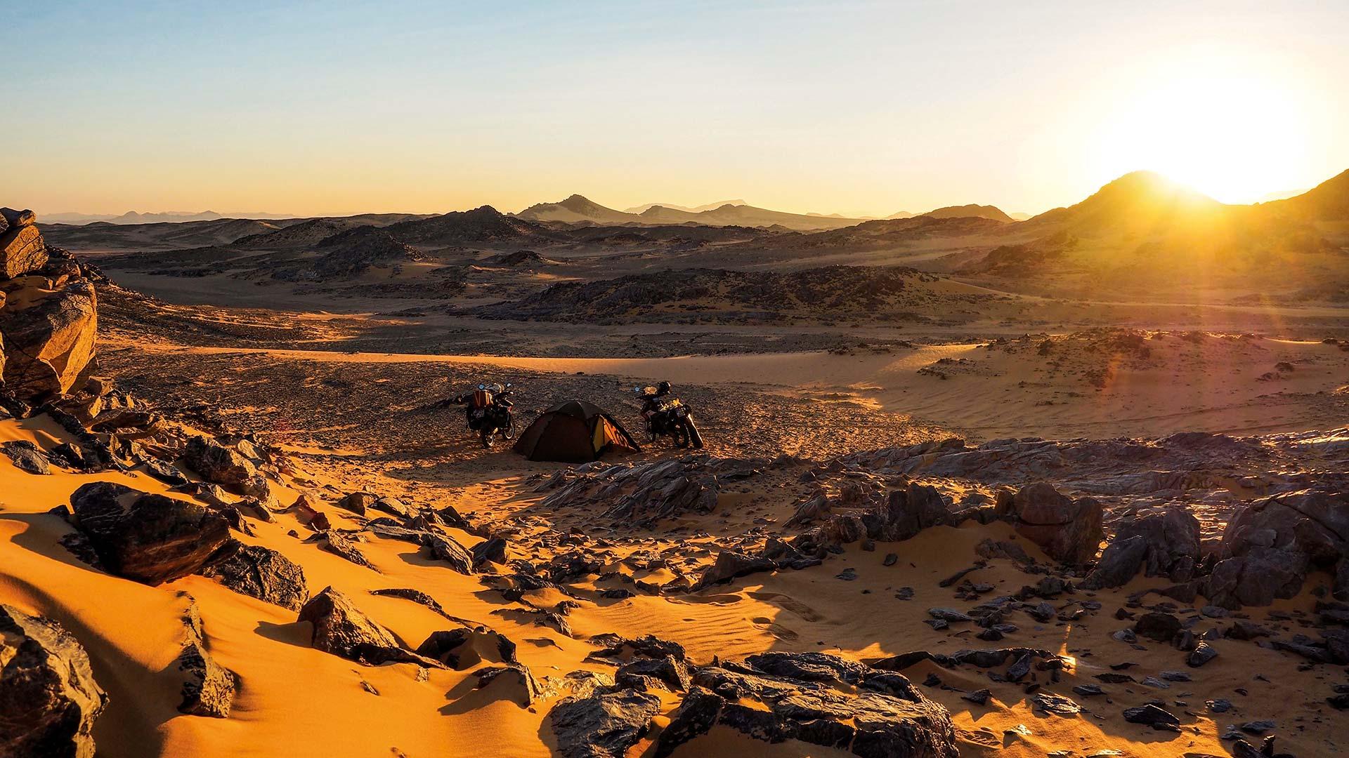 Ins Herz der Wüste