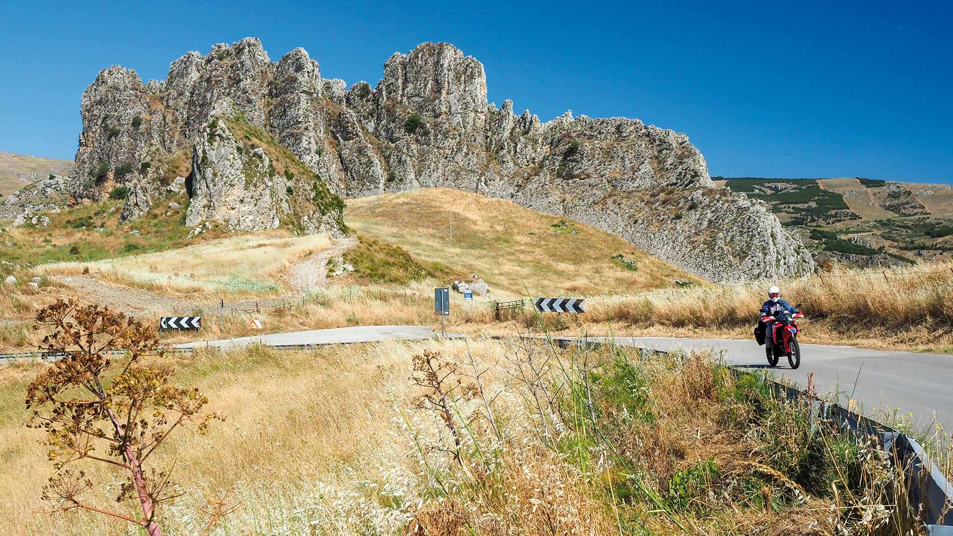 Cannoli siciliani, Tour 2 (Tour Madonie)