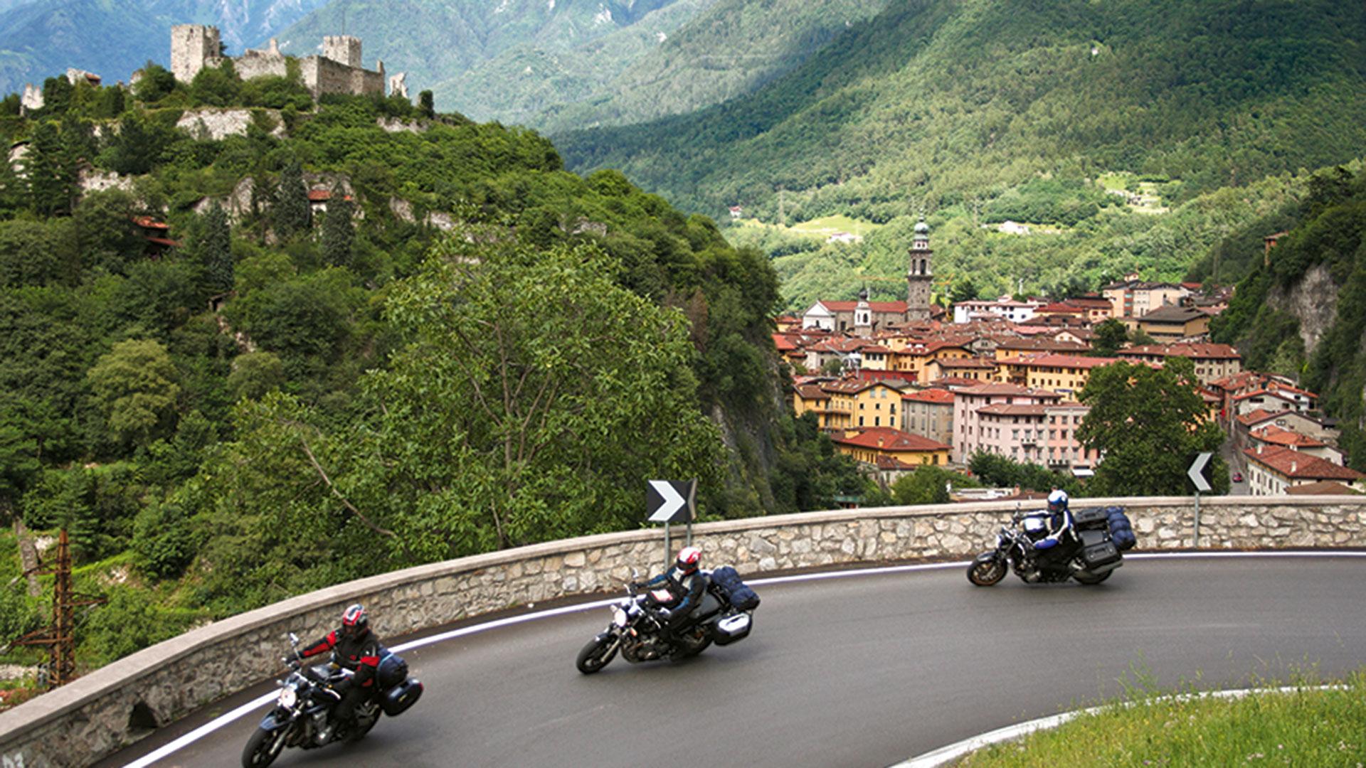 Vom Gardasse zum Berninapass