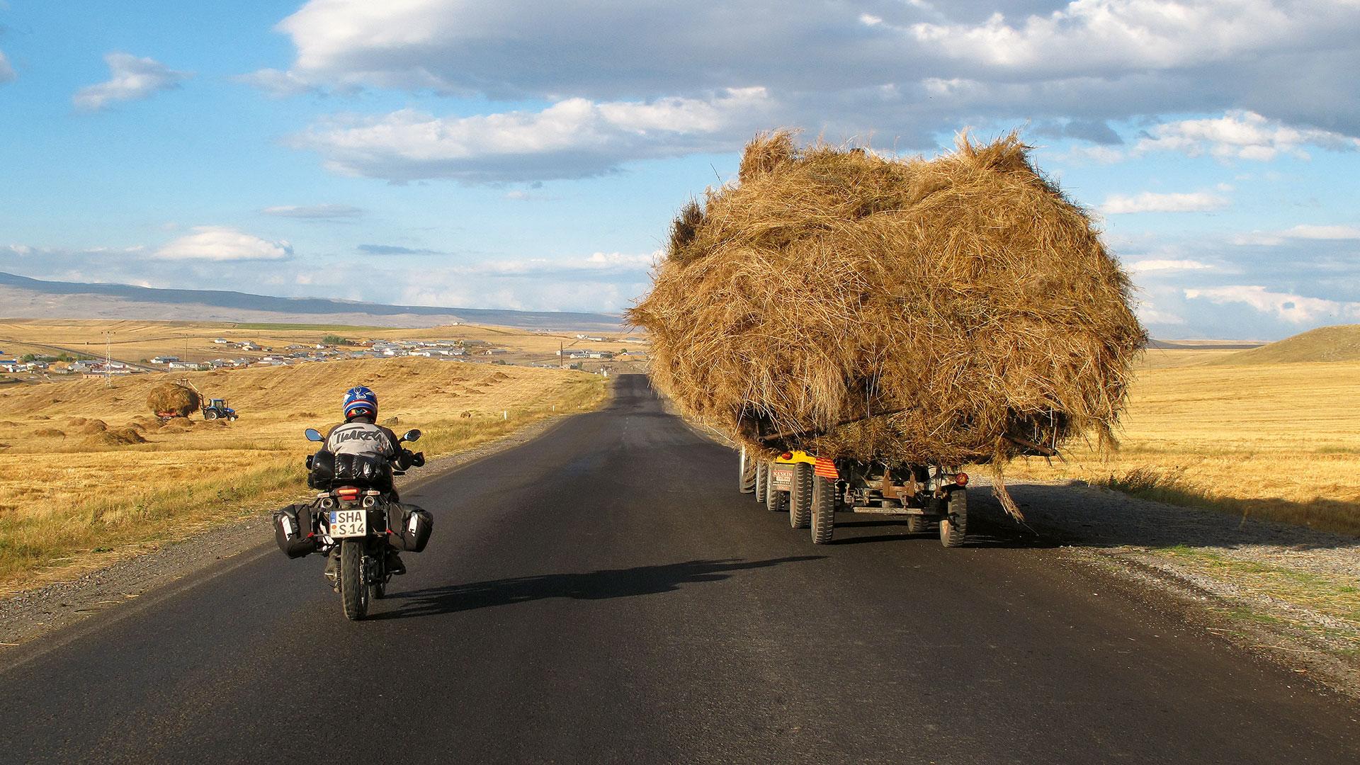 Hinterm Ararat geht's weiter