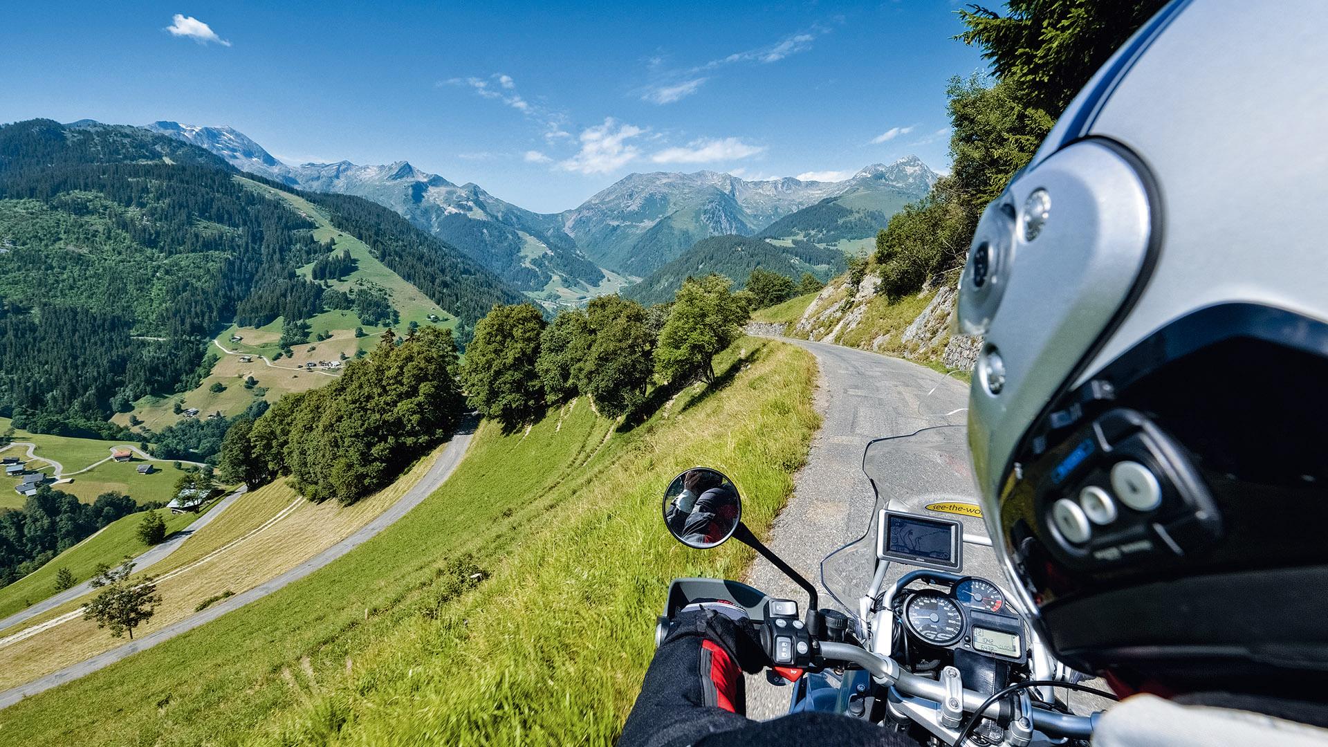Am Fuß des Weißen Berges - Tour-Nord