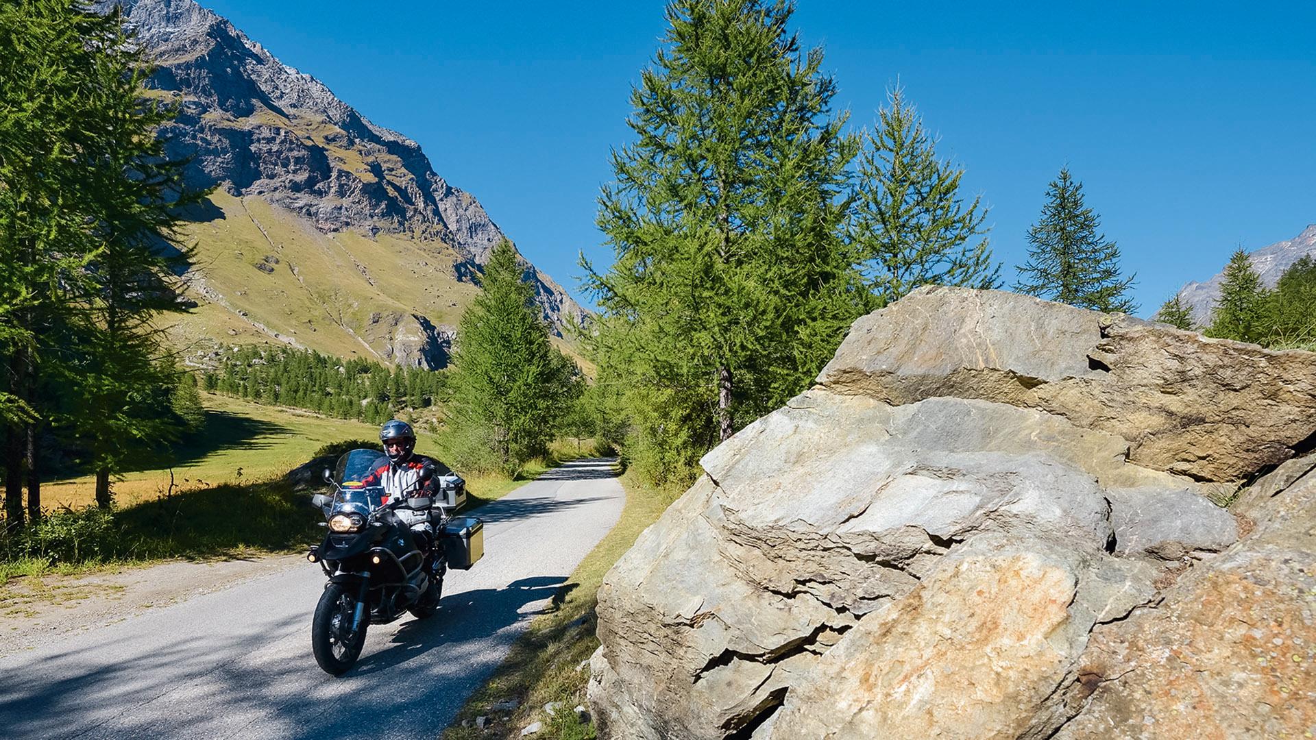 Am Fuß des Weißen Berges - Tour-Süd