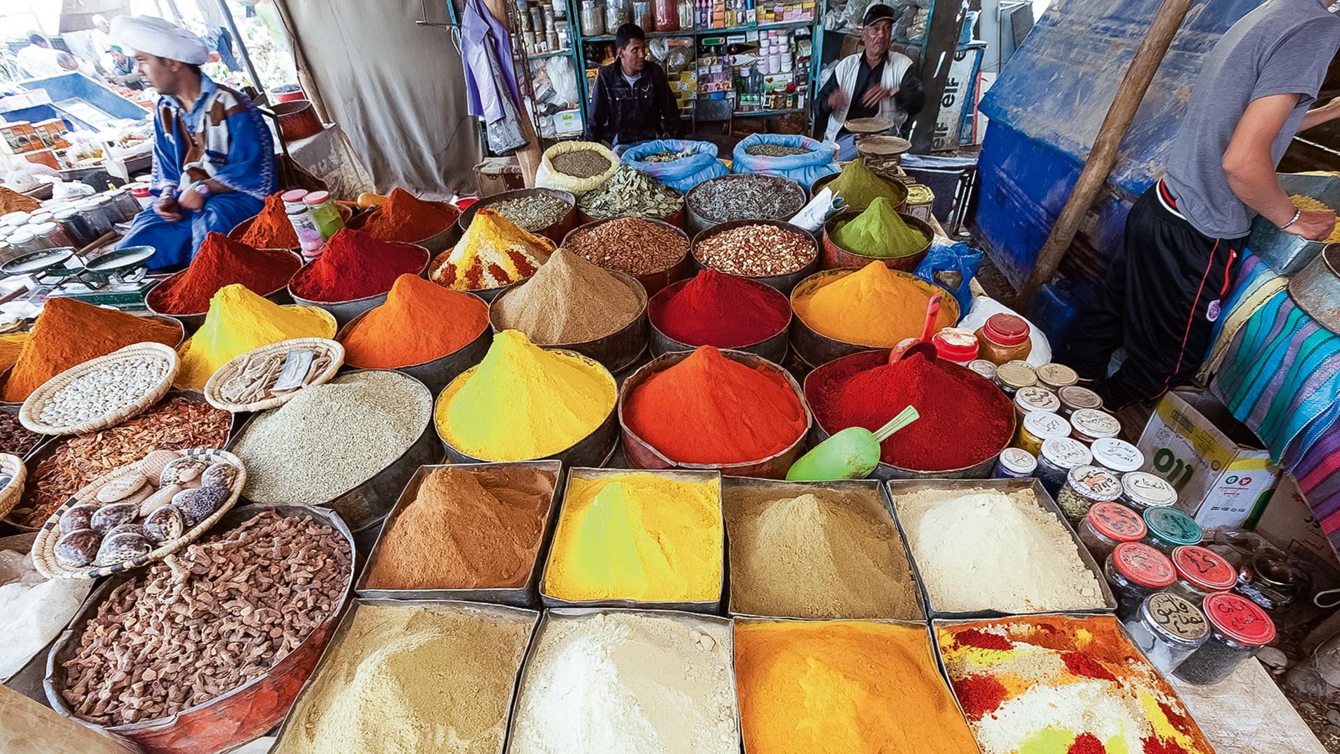 Berauschendes Marokko