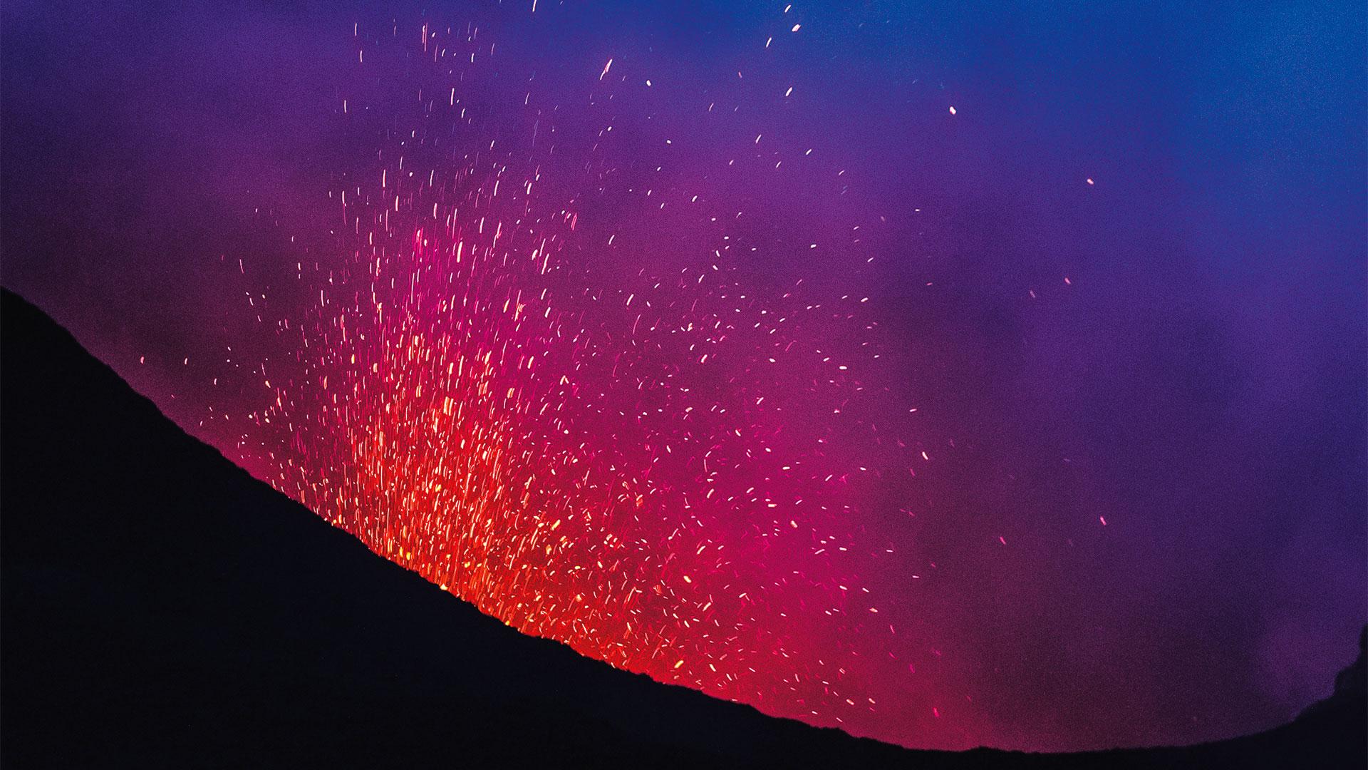 Italienisches Paradies - Isla del Volcano